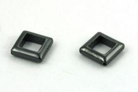 Hematit hjørneborede firkanter 13 mm