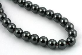 Hematit perler 8 mm