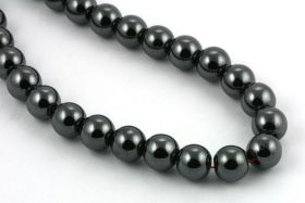 Hematit perler 10 mm