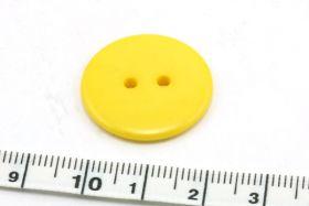 Knap 23 mm gul