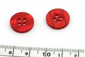 Knap 15 mm rød
