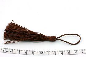 Kvast 13,5 cm brun