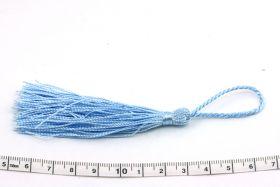 Kvast 13,5 cm blå