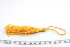 Kvast 13,5 cm gul