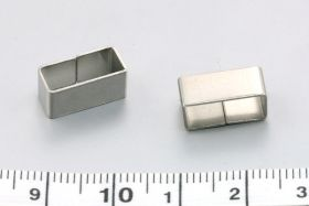 Rustfri stål connector 13x6x6 mm