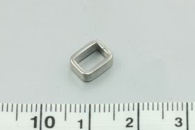 Rustfri stål connector 6x8 mm