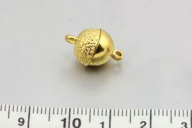 Magnet lås guld farve 10 mm
