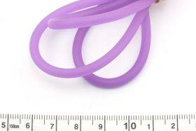 Gummisnøre 4 mm Lilla