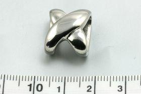 Rustfri stål hul ca. 13 x 5 mm