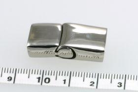 Rustfri stål lås 27,5x13,5 mm
