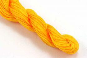 Knyttesnor gul 1,0 m/m Nylon bdt.30 mtr