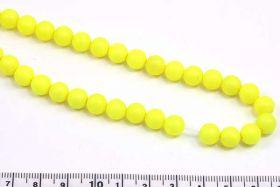 Jadeperler neon gul 8 mm