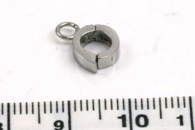 Smykkelås click on rustfri stål