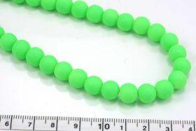 Jadeperler neon grøn 8 mm