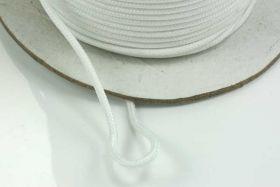 Faldskærmsline 2 mm hvid