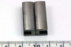 Magnetlås hul ca.3,7x30 mm gunmetal