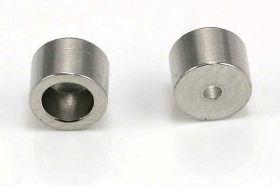 Endestykke rustfri stål til lås med 6 mm hul