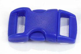 Lås til faldskærmsline blå plastic