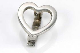 Rustfri stål lås clip