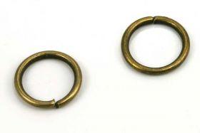 O-ringe Bronce farve hul 6,6 mm 50 stk