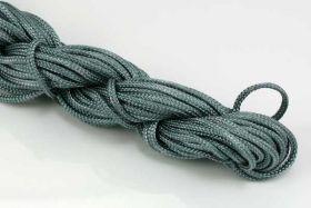 Knyttesnor grå 2,0 m/m Nylon
