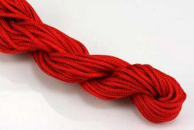 Knyttesnor rød 2,0 m/m Nylon