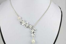 Halskæde med perle