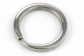 Nøglering rustfri stål flad 22 mm