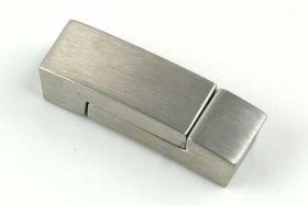 Magnetlås mat rustfri stål hul 3x5,5 mm