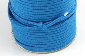 Faldskærmsline 4 mm Turkis blå
