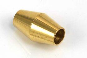 Rustfri stål lås guld 5 mm hul
