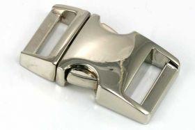 Lås til faldskærmsline aluminium Medium