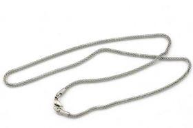 Rustfri stål kæde med lås 2,4 mm