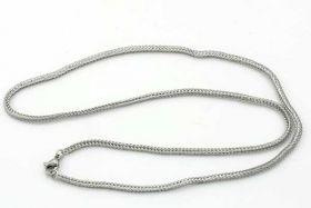 Rustfri stål kæde med lås 2,2 mm