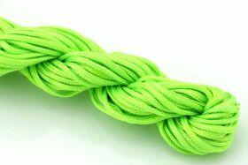 Knyttesnor Neongrøn 2,0 m/m Nylon