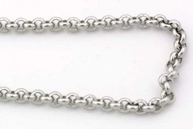 Rustfri stål kæde 2,5 mm