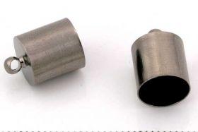 Enderør sort indv. 8 mm 10 stk