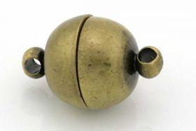 Magnetlås 10 mm antik bronce