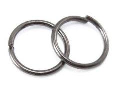 O-ring 8 mm hul gunmetal farvet 50 stk