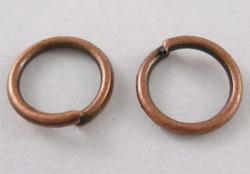 O-ring 3,5 mm hul Kobber color 100 stk