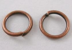 O-ring 5,7 mm hul Kobber color 100 stk
