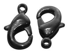 Smykke lås gunmetal 8x15 mm 10 stk