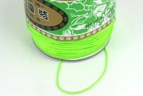 Nylonsnøre 1,5 mm neon grøn
