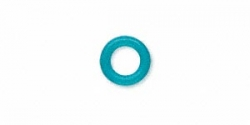 O-ring gummi Turkis 5 mm hul 20 stk