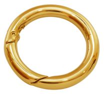 Smykkelås click on 25 mm guldfarve