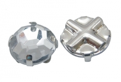Rhinsten perle klar 8 mm