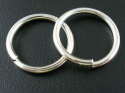 O-ring 13,2 mm hul sølvbelagt 10 stk