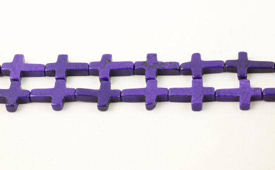 Magnesit kors 12x16 mm Lilla