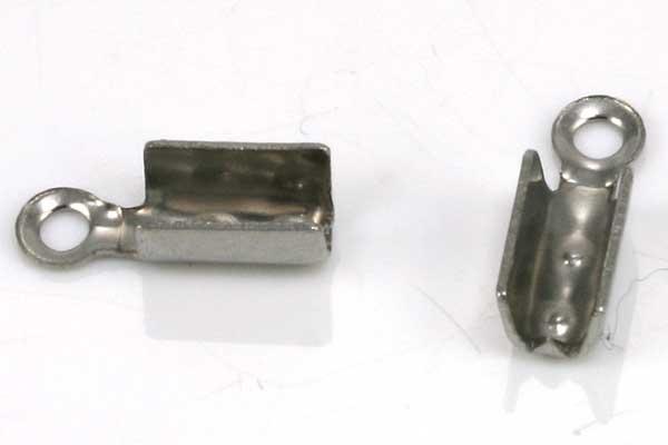 Rustfri stål klemmedup 10x3 mm 10 stk