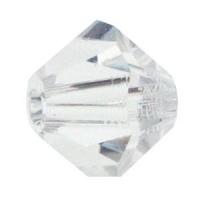 Swarowski crystal perler 6 mm Bicone